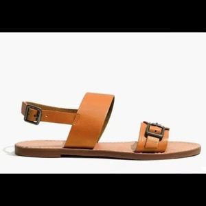Madewell Buckle Boardwalk Sandal